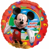 "Fóliový balónek - Mickey Mouse ""Happy birthday"" (43cm)"