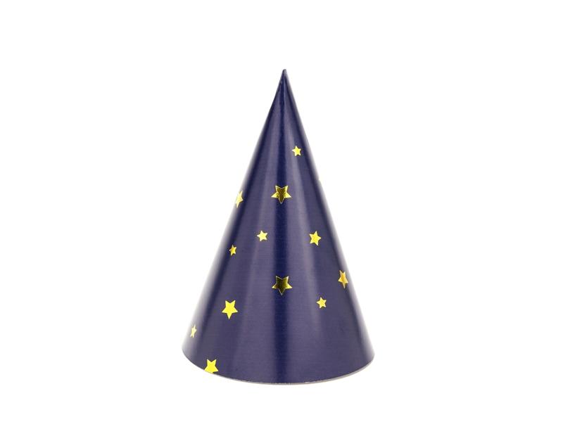 e9fb4480fd0 Mini párty čepičky - Silvestr (zlaté hvězdy mix)