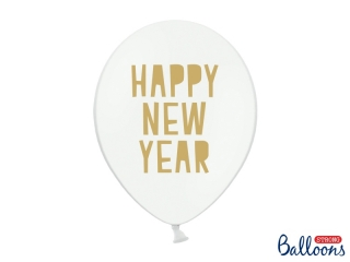 "Balónek ""Happy new year"" - 30cm"